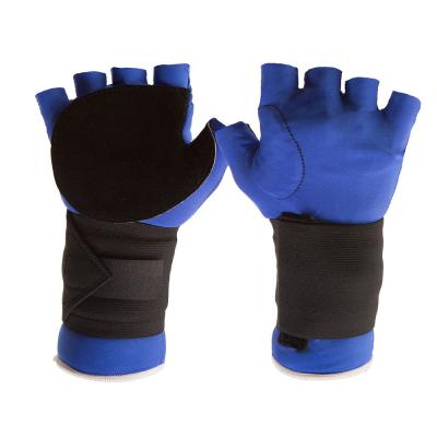 Half-Finger Anti-Impact Glove with Wrist Support