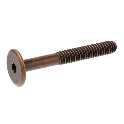 1/4 in.-20 tpi x 70 mm Narrow Antique Brass Connecting Bolt