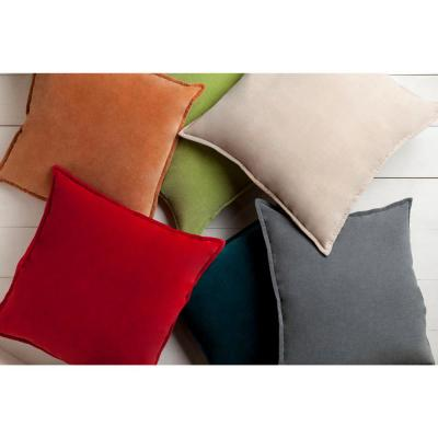 Velizh Solid Polyester Throw Pillow
