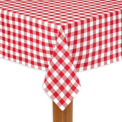 Buffalo Check 60 in. x 104 in. 100% Cotton Table Cloth for Any Table