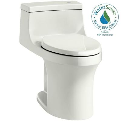 San Souci Touchless Comfort Height 1-piece 1.28 GPF Single Flush Elongated