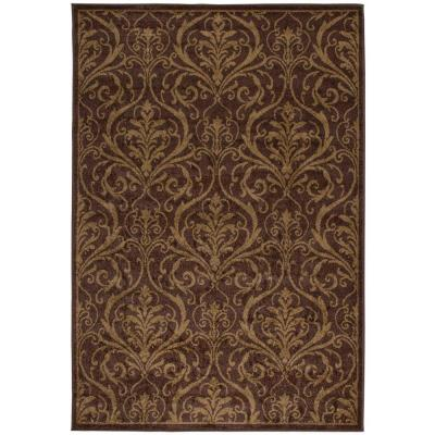 null Terrace Caf Au Lait 7 ft. 8 in. x 10 ft. 10 in. Area Rug