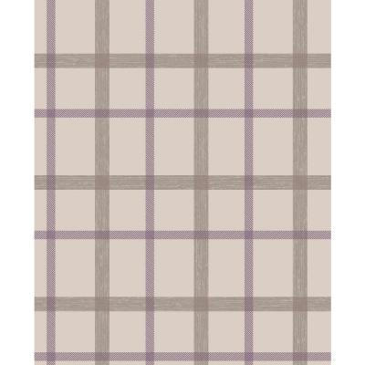 56 sq. ft. Plaid Wallpaper Product Photo