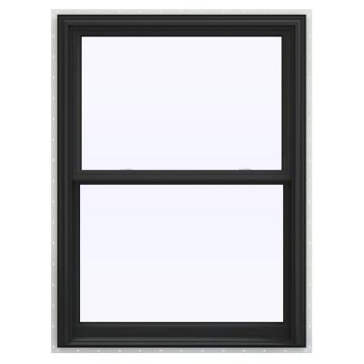 35.5 in. x 53.5 in. V-2500 Series Double Hung Vinyl Window