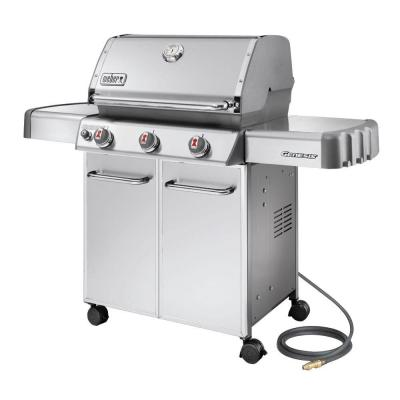 Weber Genesis S-310 3-Burner Stainless Steel Natural Gas Grill