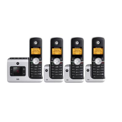 Motorola DECT 6.0 Cordless Phone with 4 Handsets MOTO-L404