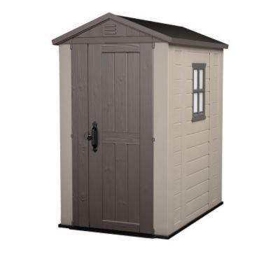 Factor 4 ft. x 6 ft. Storage Shed Product Photo