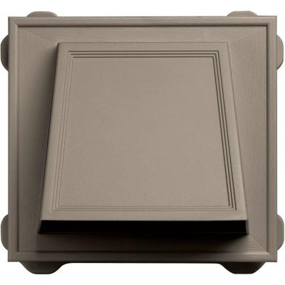 6 in. Hooded Siding Vent #097-Clay Product Photo