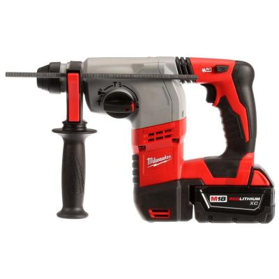 Milwaukee M18 18-Volt Lithium-Ion 7/8 in. Cordless SDS-Plus Rotary Hammer Kit