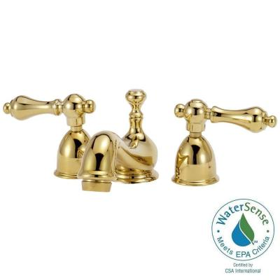 Elizabethan Classics Bradsford 4 in. Minispread 2-Handle Mid-Arc Bathroom Faucet in Oil Rubbed Bronze