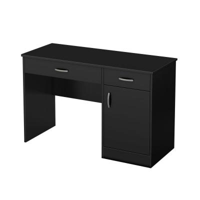 Axess Work Desk in Pure Black