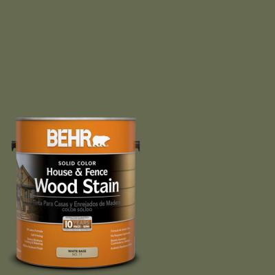 1-gal. #SC-138 Sagebrush Green Solid Color House and Fence Wood Stain