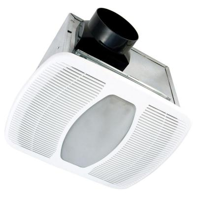 Air King Deluxe Quiet 100 CFM Ceiling Dual Speed Exhaust Fan with Fluorescent Light