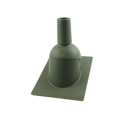 Perma-Boot Pipe Boot for 2 in. I.D. Vent Pipe Weatherwood Color New Construction/Reroof