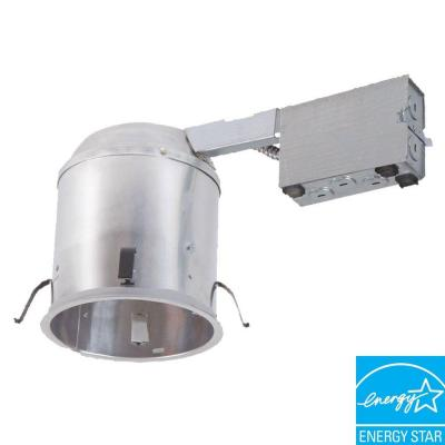 6 in. Aluminum Recessed Lighting LED T24 Remodel IC Air-Tite Housing