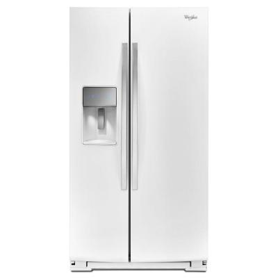 Whirlpool 29.8 cu. ft. Side by Side Refrigerator in White Ice-DISCONTINUED