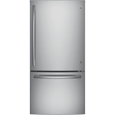 GE 33 in. W 24.9 cu. ft. Botto..