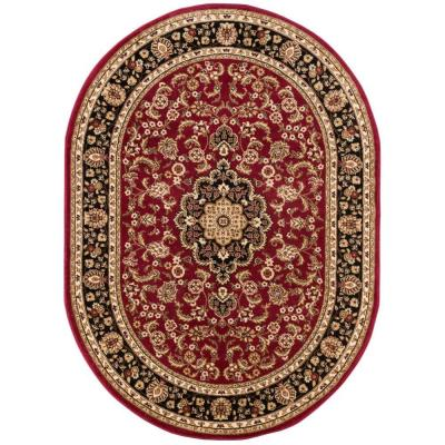 Barclay Medallion Kashan Red 5 ft. 3 in. x 6 ft.