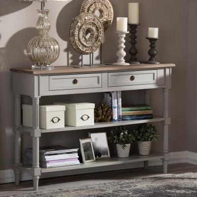 Baxton Studio Edouard II French Inspired White Console Table