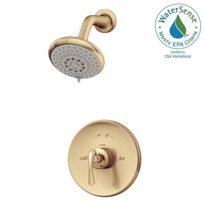 Ballina Single-Handle 3-Spray Shower Faucet in Brushed Bronze Product Photo
