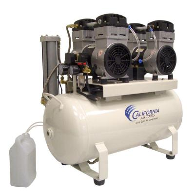 California Air Tools 17 Gal. Electric Ultra Quiet and Oil-Free Air Compressor with Air Dryers