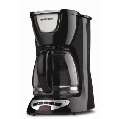 BLACK+DECKER 12-Cup Programmable Coffee Maker-DISCONTINUED-DCM100B at The Home Depot