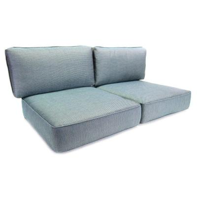 Hampton Bay Fenton Replacement Outdoor Loveseat Cushion