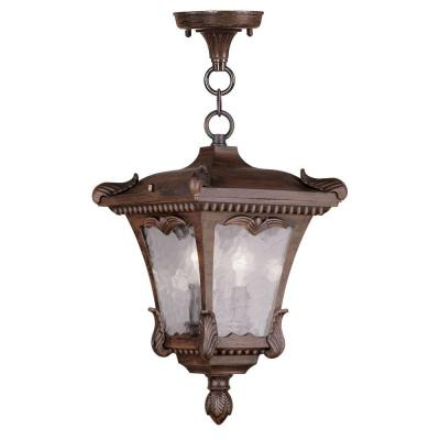 Filament Design Providence 2-Light Hanging Outdoor Imperial Bronze Incandescent Lantern