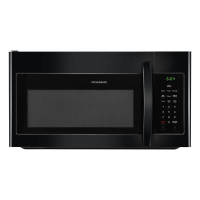 Frigidaire 30 in. 1.6 cu. ft. Over the Range Microwave in Black