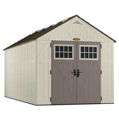 Tremont 16 ft. 3-1/4 in. x 8 ft. 4-1/2 in. Resin Storage Shed Product Photo