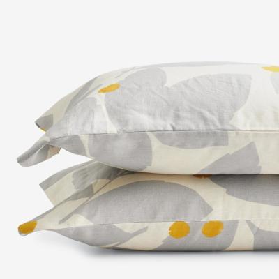 Legends Hotel™ Floral Relaxed Linen Pillowcase (Set of 2)