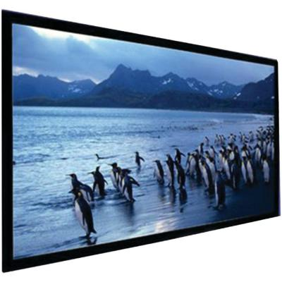 135 in. Stratus Series Slate Gray Fixed-Frame Screen Product Photo