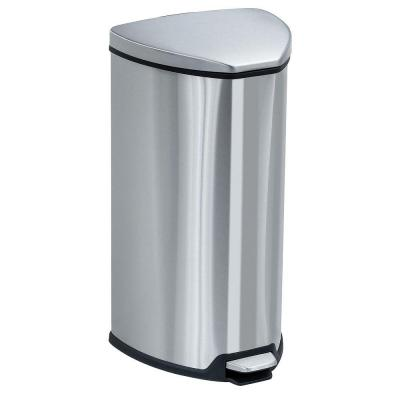 7 Gal. Stainless Steel Step-On Trash Can