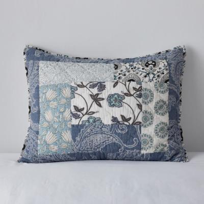 Galloway Floral Cotton Patchwork Sham