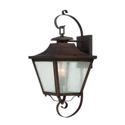 Acclaim Lighting Lafayette Collection Wall-Mount 2-Light Outdoor Copper Patina Light Fixture