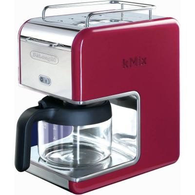 DeLonghi kMix 5-Cup Coffee Maker in Red-DISCONTINUED