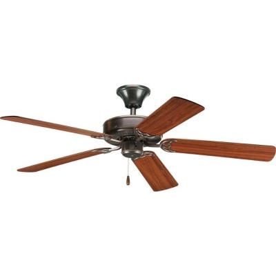 Progress Lighting AirPro Builder 52 In. Antique Bronze Ceiling Fan P2501-20