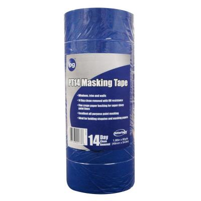 Intertape Polymer Group PT14 Pro Mask Blue 2.0 in. x 60 yds. Masking Tape (6-Pack)