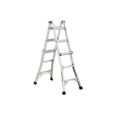 Werner 13 ft. Aluminum Telescoping Multi-Position Ladder with 250 lb. Load Capacity Type I Duty Rating