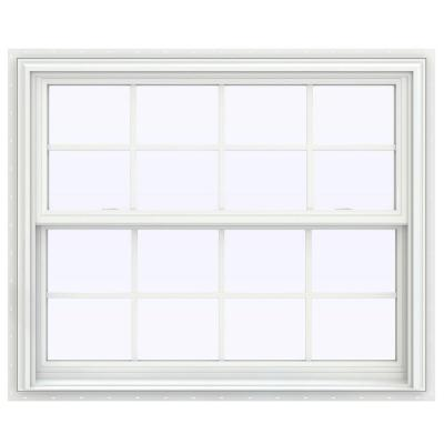 43.5 in. x 53.5 in. V-2500 Series Double Hung Vinyl Window