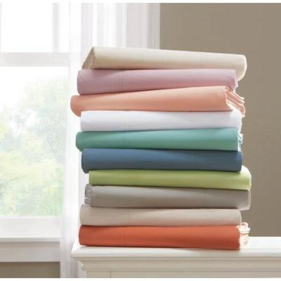 Company Cotton? 300-Thread Count Percale Flat Sheet
