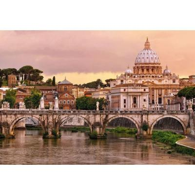 145 in. x 100 in. Rome Wall Mural
