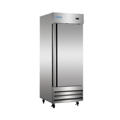 23 cu. ft. Single Door Commercial Reach-In Freezer in Stainless Steel