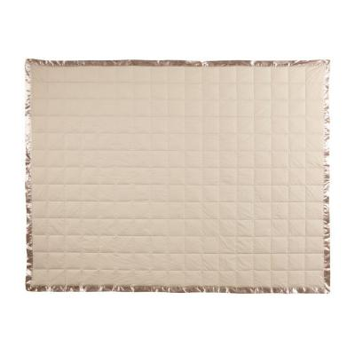 Home Decorators Collection Down 96 in. W Khaki Queen Cotton Blanket