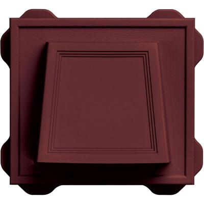 4 in. Hooded Vent #078-Wineberry Product Photo