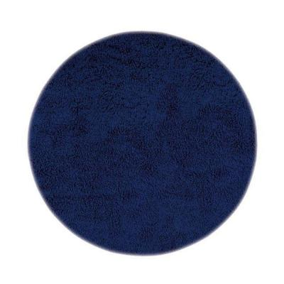 Home Decorators Collection Ultimate Shag Blue 8 ft. Round Area Rug