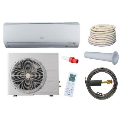 High Efficiency 9,000 BTU 3/4 Ton Ductless Mini Split Air Conditioner and Heat Pump Kit - 230V/60Hz Product Photo