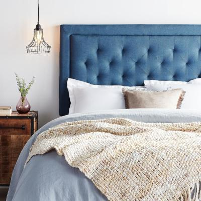Upholstered Headboard with Diamond Tufting