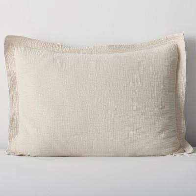 Weaver Organic Solid 200-Thread Count Cotton Sham