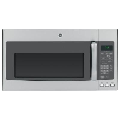 GE 1.9 cu. ft. 1100-Watt Over the Range Microwave in Stainless Steel with Sensor Cooking